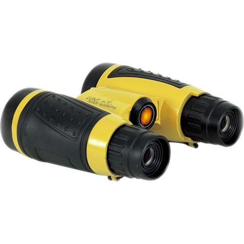 Lunt Solar Systems 6x30 White Light mini-SUNocular Binocular (Yellow, Clamshell Packaging)
