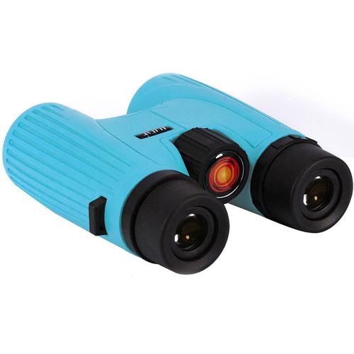 Lunt Solar Systems 8x32 White Light SUNocular Binocular (Blue)