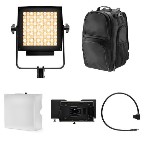 Lupo Actionpack Dual Color LED Light Panel Kit