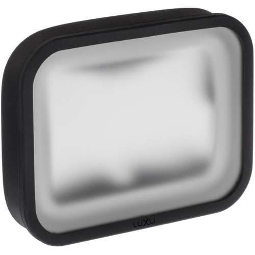 """Luxli Softbox with Diffusion Filter for Viola 5"""" Multicolor On-Camera LED Light"""