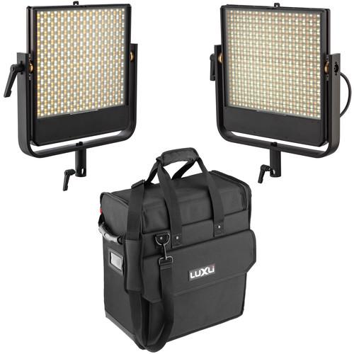 Luxli Timpani 1x1 RGBW LED 2-Light Kit