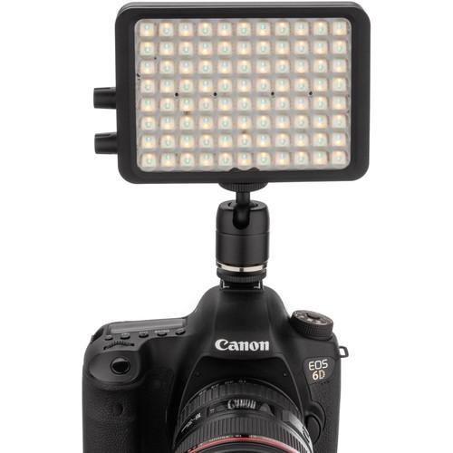 "Luxli Viola 5"" On-Camera RGB LED Light with Diffuser Kit"