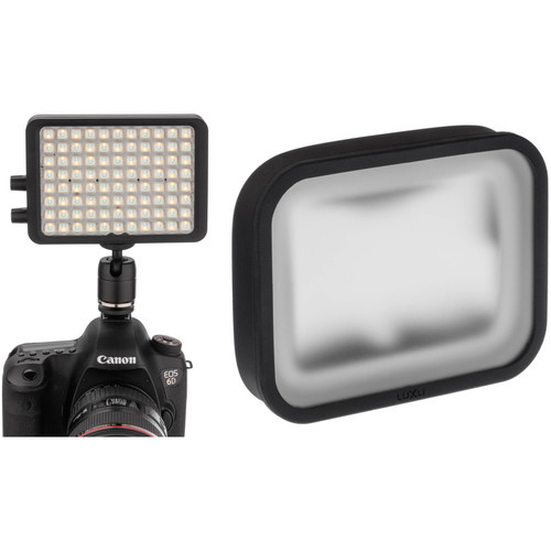"Luxli Viola 5"" On-Camera RGB LED Light Kit with Diffuser"