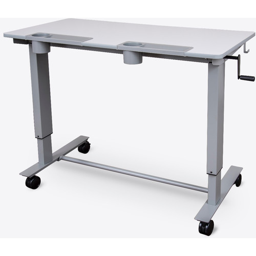 Luxor Two-Student Standing Desk with Crank Handle