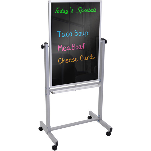 Luxor BM3040M Mobile Black Marker Board