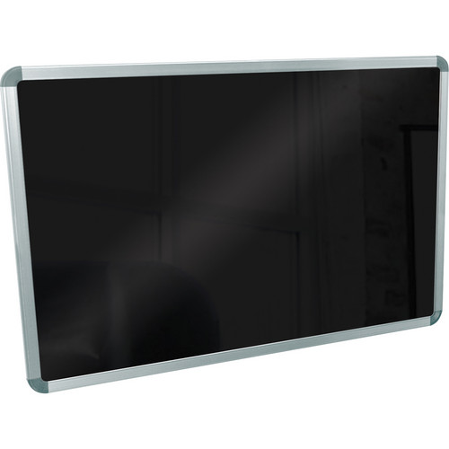 Luxor BW4030M Wall-Mounted Markerboard (Black)