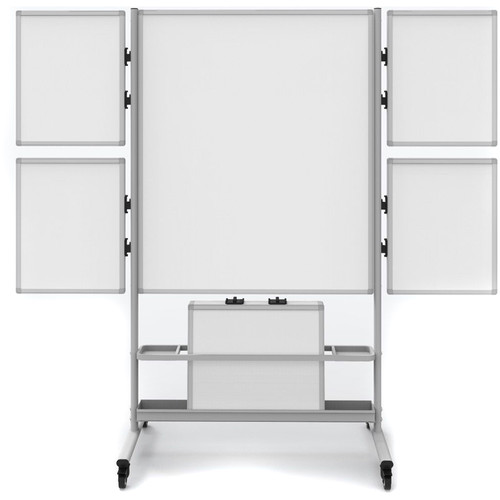 Luxor Collaboration Station Mobile Whiteboard