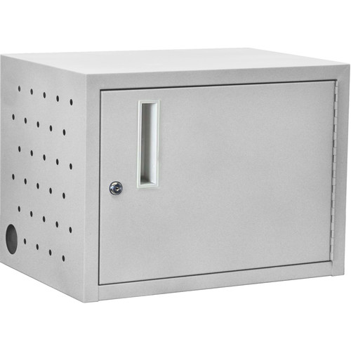 Luxor 12-Tablet Wall/Desk Charging Box (Gray)