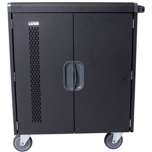 Luxor 32 Laptop/Tablet Smart Charging Cart
