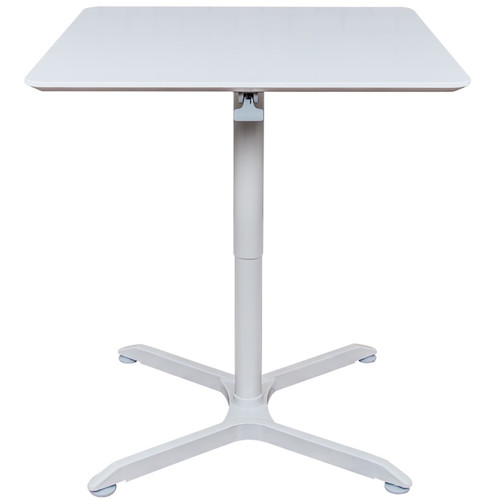 """Luxor 36"""" Pneumatic Height Adjustable Square Cafe Table"""