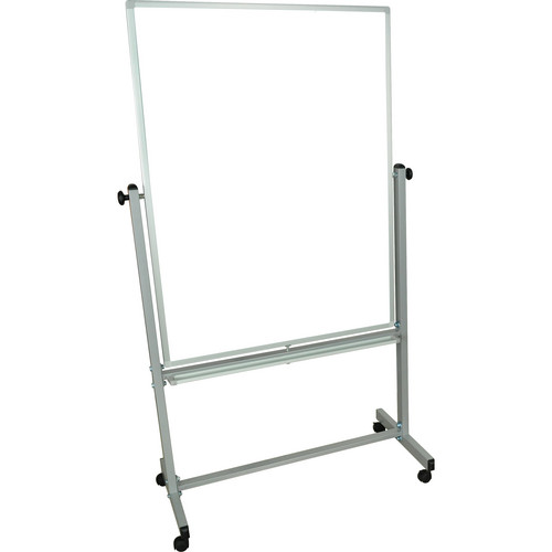 "Luxor MB3648WW Mobile Magnetic Reversible Whiteboard (35.5 x 47.25"")"