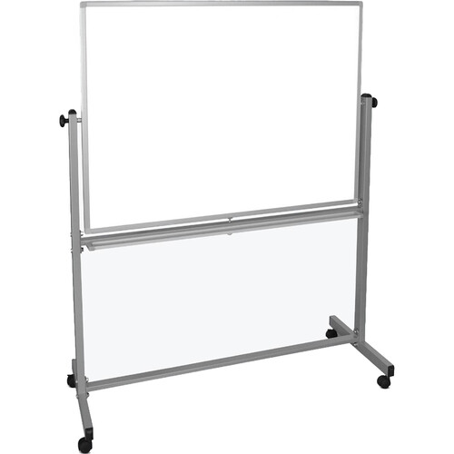 "Luxor MB4836WW Mobile Magnetic Reversible Whiteboard (48 x 36"")"