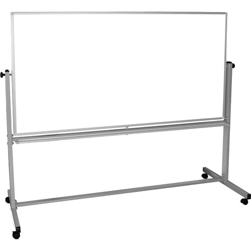 """Luxor MB7248WW Mobile Magnetic Reversible Whiteboard (72 x 48"""")"""