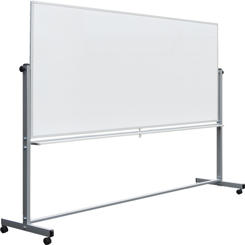 """Luxor 96 x 40"""" Double-Sided Magnetic Whiteboard"""