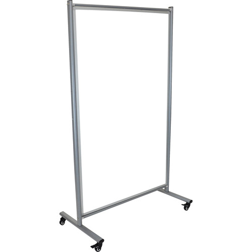Luxor MD4072W Mobile Magnetic Whiteboard Room Divider
