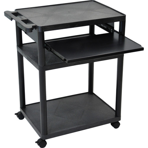 "Luxor MPSL-B Mobile Presentation Cart (24.0 x 32.75 x 18.0"")"