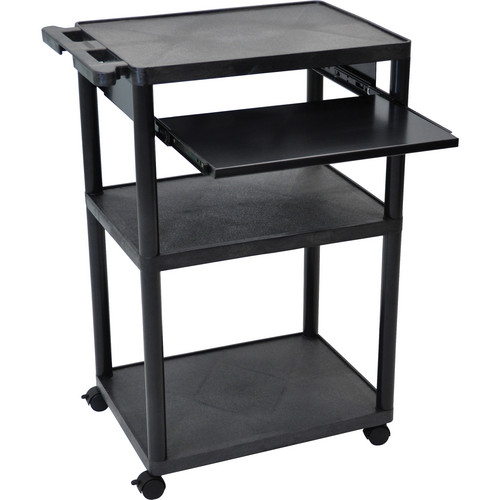 "Luxor MPTL-B Mobile Presentation Cart (24.0 x 38.25 x 18.0"")"