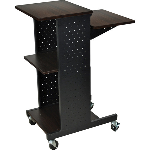 Luxor PS4000 Mobile Presentation Station (Walnut)