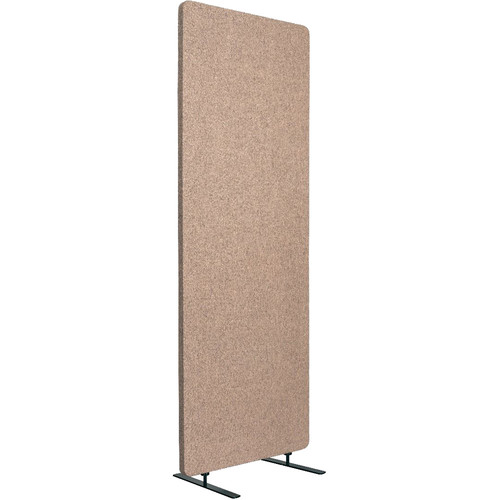 Luxor Reclaim Acoustic Room Divider Single Panel - Desert Sand