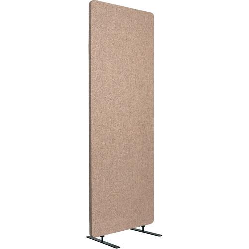 Luxor Reclaim Standalone Acoustic Room Divider Panel (Desert Sand)