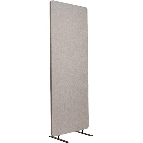 Luxor Reclaim Acoustic Room Divider Single Panel - Misty Gray