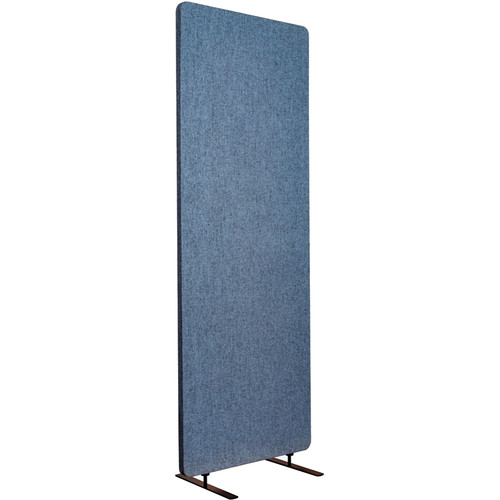 Luxor Reclaim Standalone Acoustic Room Divider Panel (Pacific Blue)