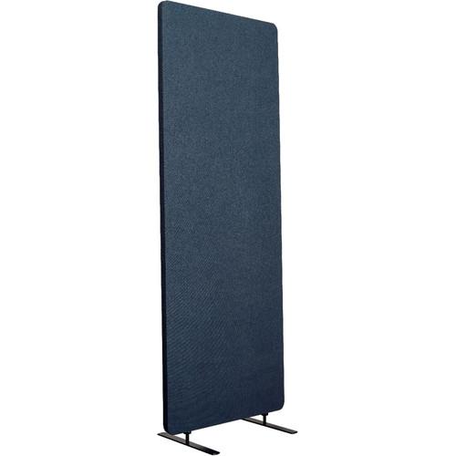 Luxor Reclaim Standalone Acoustic Room Divider Panel (Starlight Blue)