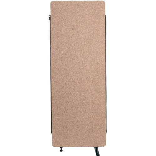 Luxor Reclaim Acoustic Room Divider Expansion Panel - Desert Sand