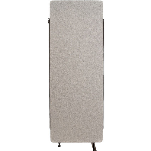 Luxor Reclaim Acoustic Room Divider Expansion Panel (Misty Gray)