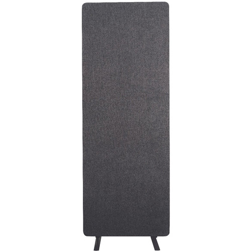 Luxor Reclaim Acoustic Room Divider Expansion Panel (Slate Gray)