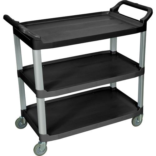 Luxor 3-Shelf Large Serving Cart