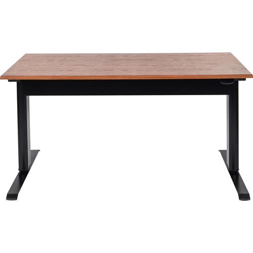 """Luxor 56"""" Pneumatic Adjustable Height Standing Desk"""