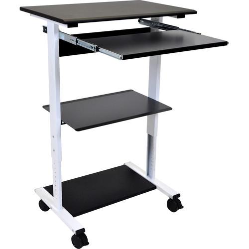 Luxor Three-Shelf Adjustable Stand-Up Workstation