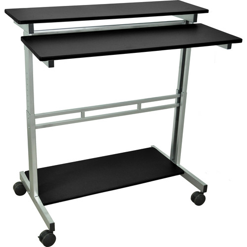 "Luxor Stand-Up Workstation (Black, 40"")"