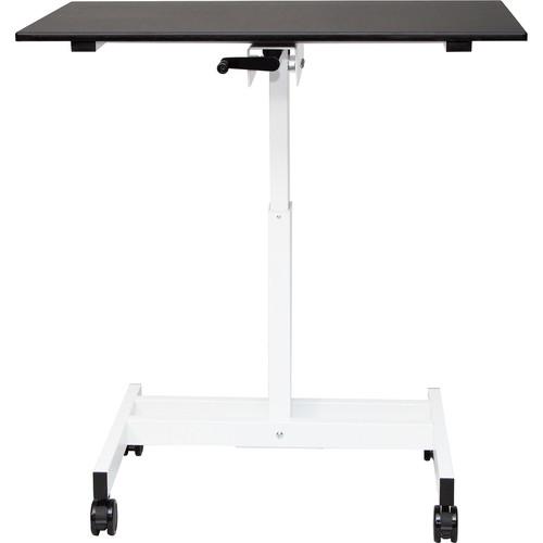 "Luxor 40"" Single-Column Crank Adjustable Stand-Up Desk"