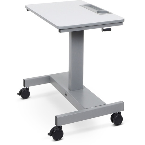 Luxor Sit/Stand Student Desk with Crank Handle (Short Version)