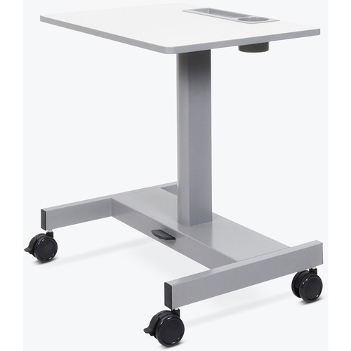 Luxor Pneumatic Sit/Stand Student Desk (Short Version)