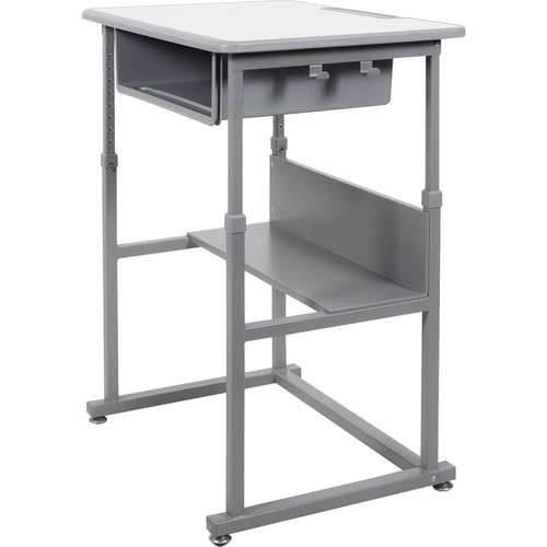 Luxor Manually Adjustable Student Sit/Stand Desk