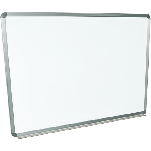 "Luxor Wall-Mountable Magnetic Porcelain Whiteboard (48 x 36"")"