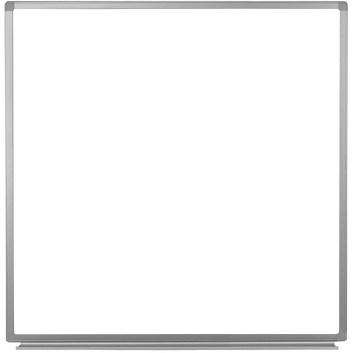 "Luxor Wall-Mountable Magnetic Whiteboard (48 x 48"")"