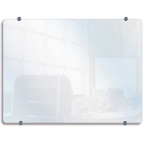 """Luxor WGB4030 Wall-Mounted Glass Board (40x30"""")"""
