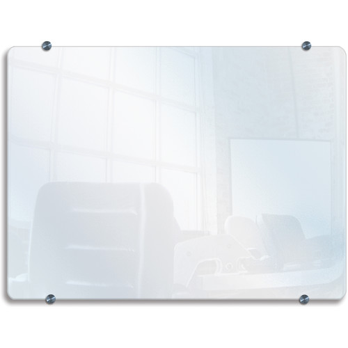 "Luxor WGB4834 Wall-Mounted Glass Board (48 x 34"")"