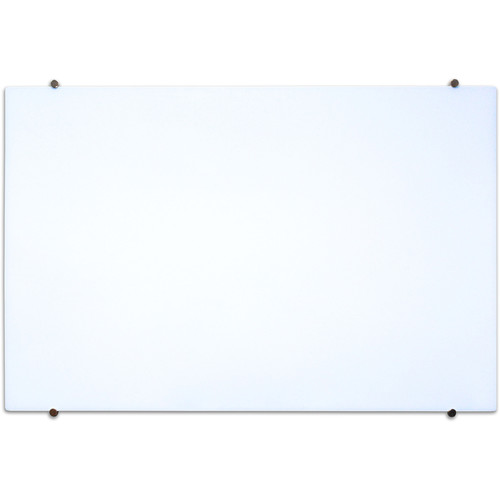 "Luxor Wall-Mountable Magnetic Glass Board (48 x 34"")"
