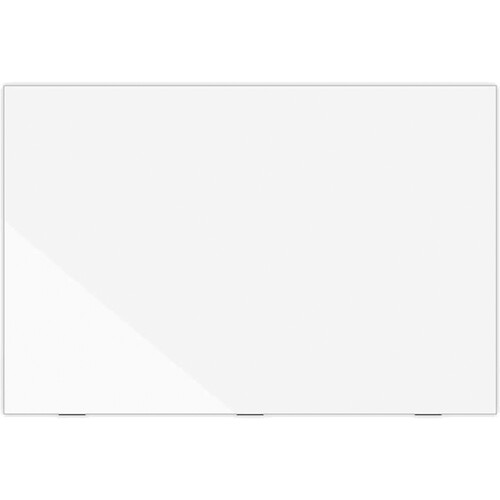 """Luxor Wall-Mountable Magnetic Glass Board (72 x 48"""")"""