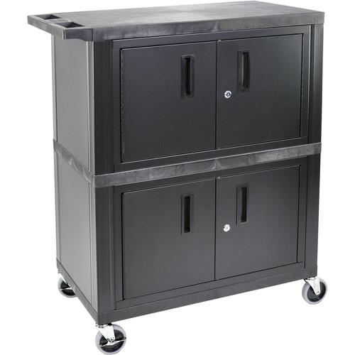 Luxor WT60-B Utility Cart for A/V Storage