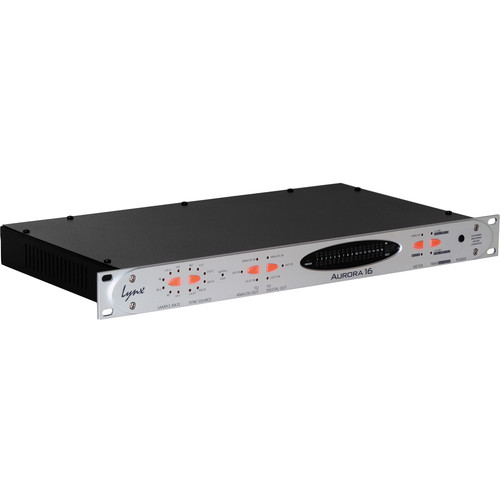 Lynx Studio Technology Aurora 16 DNT 16-Channel AD/DA Converter with Dante Card