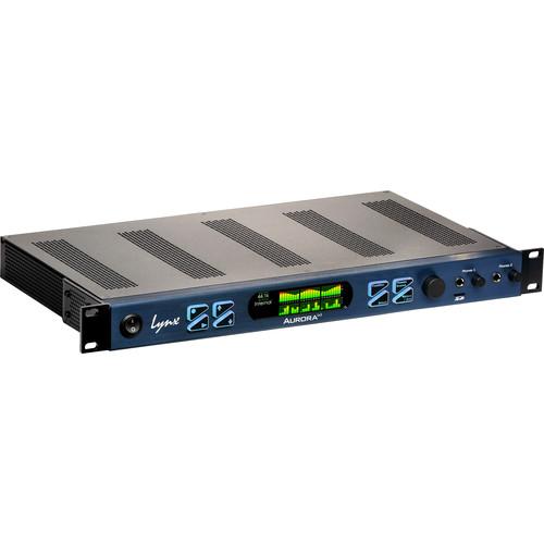 Lynx Studio Technology Aurora<sup>(<i>n</i>)</sup> 24 DNT - 24 Channel AD/DA Converter with LT-DANTE Dante Card
