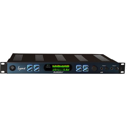 Lynx Studio Technology Aurora(ⁿ) 32 HD - 32 Channel AD/DA Converter with LT-HD Card for Pro Tools|HD