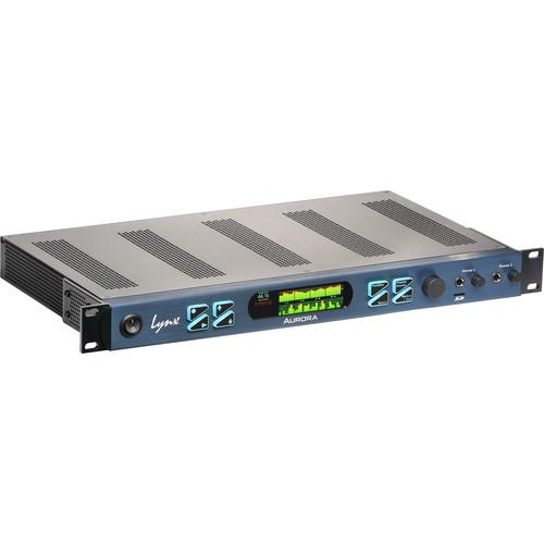 Lynx Studio Technology Aurora<sup>(<i>n</i>)</sup> 32 TB - 32 Channel AD/DA Converter with LT-TB Thunderbolt Card