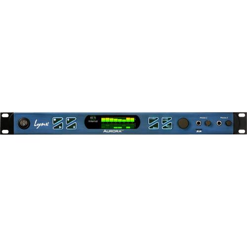 Lynx Studio Technology Aurora(ⁿ) 8 DNT - 8 Channel AD/DA Converter with LT-DANTE Dante Card